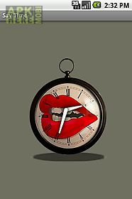 say time