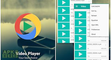 3d video player for Android free download at Apk Here store