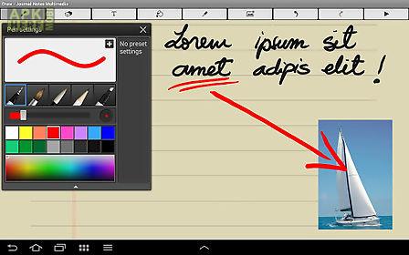 diary notes multimedia