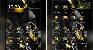 Golden carbon fiber