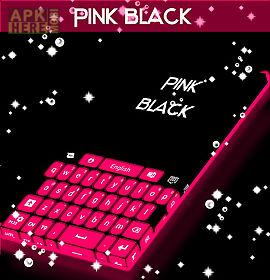 pink black keyboard