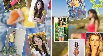 Collage photo mania