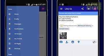 Fastweb for facebook
