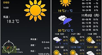 Weathernow (jp weather app)