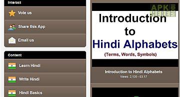 Learn hindi free