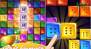 Dominoes jewel block merge