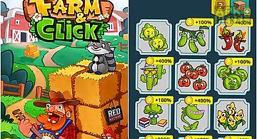 Farm and click: idle farming cli..