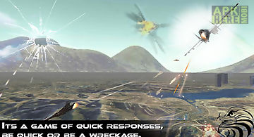 Jet fighter dogfight chase 3d