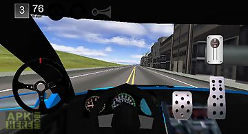 Racing car simulator 3d 2014
