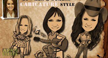Change photo into caricature