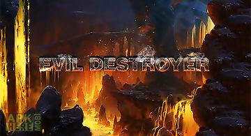 Evil destroyer: bullet boom