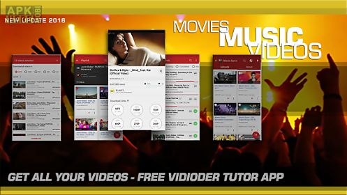 Free videoder tutor for Android free download at Apk Here store