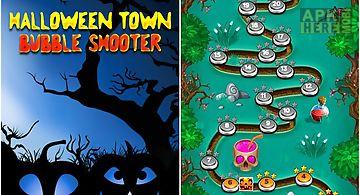 Halloween town: bubble shooter