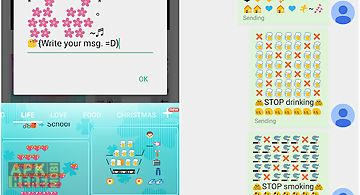 Life art - emoji keyboard
