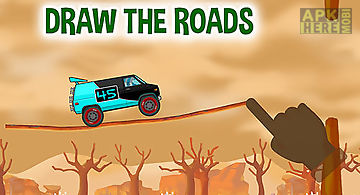 Road draw: hill climb race