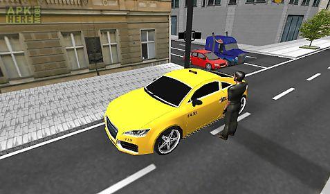 taxi car driver