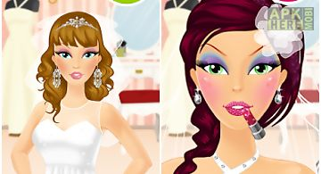 Wedding makeup girls