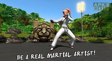 Karate fighting tiger 3d