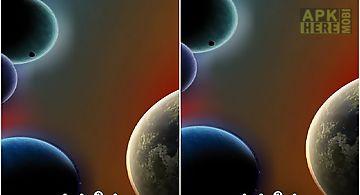 Dynamic space Live Wallpaper