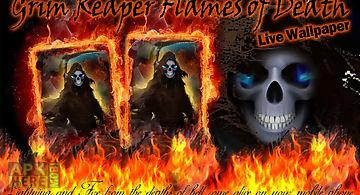 Grim reaper flame of death lwp L..