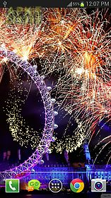 new year fireworks lwp (pro) live wallpaper
