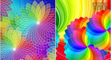 Rainbow colors Live Wallpaper