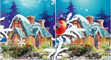 Winter landscape Live Wallpaper