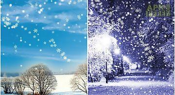 Winter snow  pro Live Wallpaper