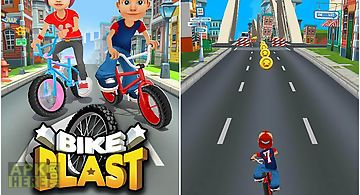 Bike blast: racing stunts game