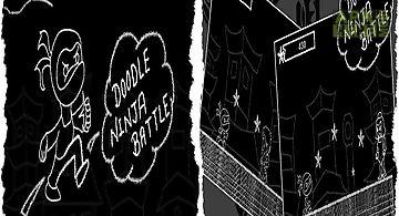 Doodle ninja battle
