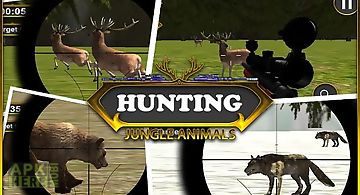 Hunting jungle animals
