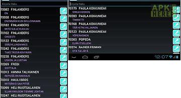 Karaoke list