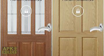 Screen door unlock free