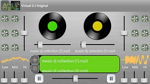 Virtual dj original for Android free download at Apk Here store