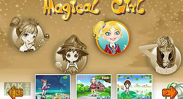 Girls games - magic 4 in 1