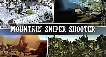 Mountain sniper shooting