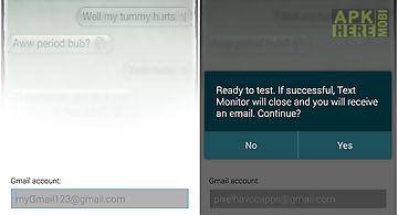 Text monitor