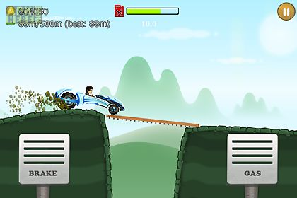 up hill racing: car climb