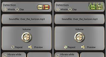 Whistle & find - phone finder