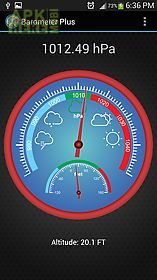 Barometer Plus For Android Free Download At Apk Here Store - Altitude measurement app