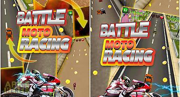 Battle moto racing