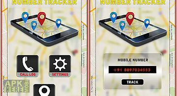 Caller id and number tracker