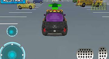Cartoon car parking 3d