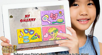 Girls fashion painting 4 kids