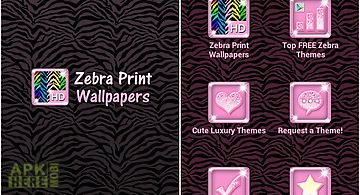 ★custom zebra wallpaper themes