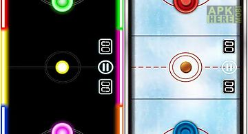 Air hockey deluxe