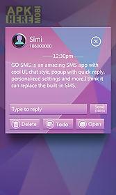 go sms pro mosaics theme ex