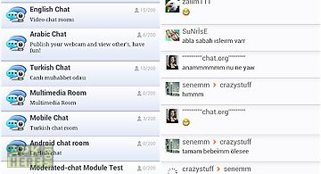 Video chat rooms - look2cam