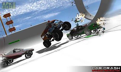 car crash: maximum destruction