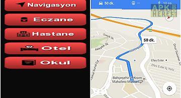 Türkçe navigasyon